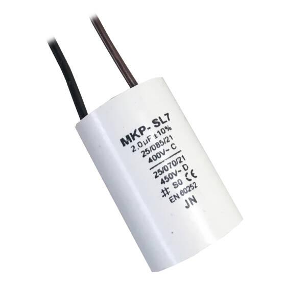 Kondensator Rozruchowy Do Dmuchawy Pojemność 2 Uf Mkp Sl7 Domer